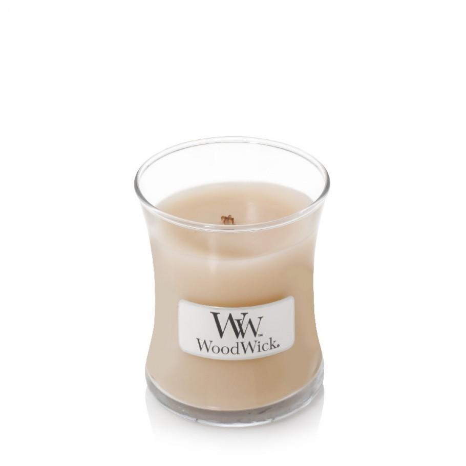 aromaticheskaya svecha white honey mini jar woodwick 910x910 1 - Ароматична свічка Woodwick Mini White Honey 85г