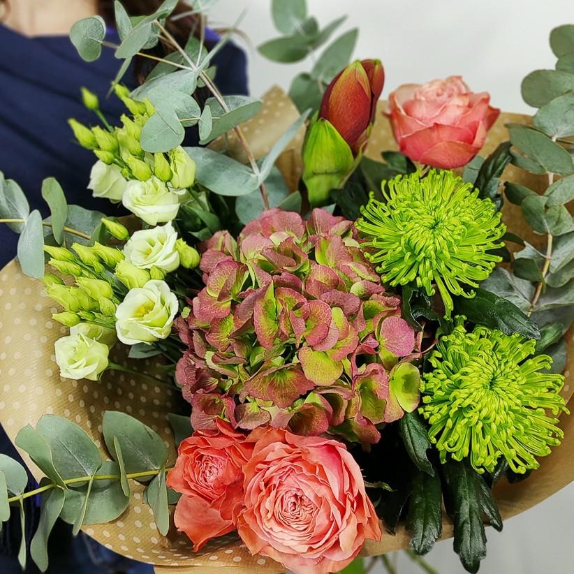 Букет цветов № 121