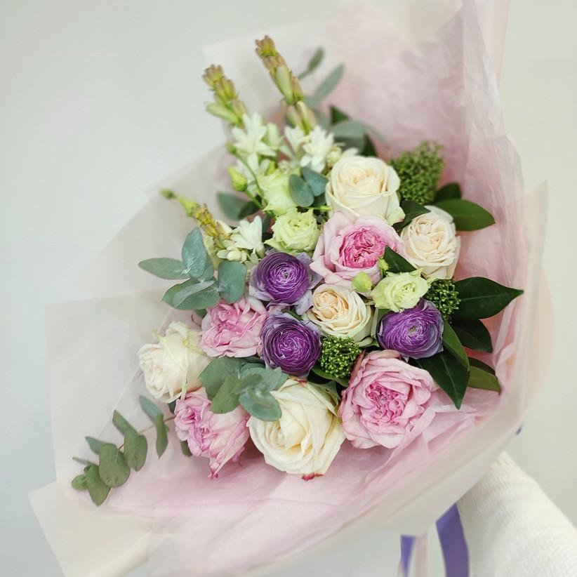 img 20201117 150647 - Букет цветов № 119