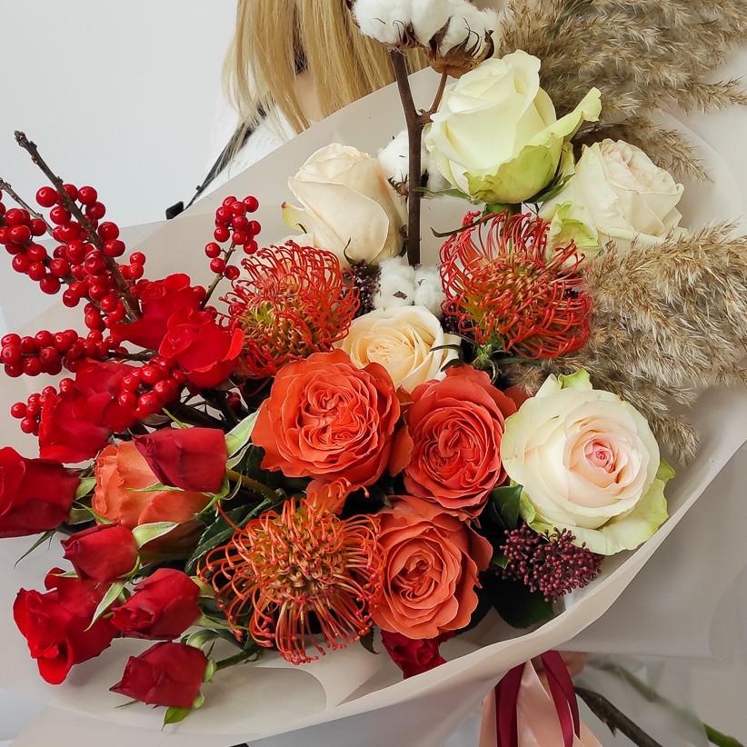 img 20201122 140949 - Букет квітів № 125