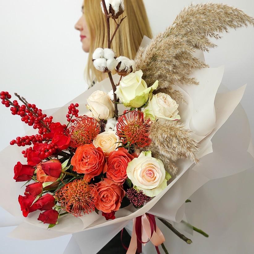 img 20201122 141050 - Букет квітів № 120