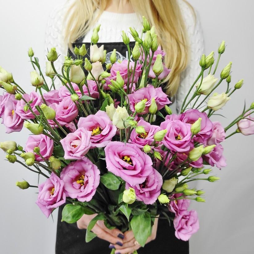 Еустома рожева