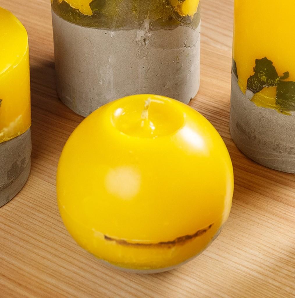 7 005 01 - Свечи лофт с бетонным основанием