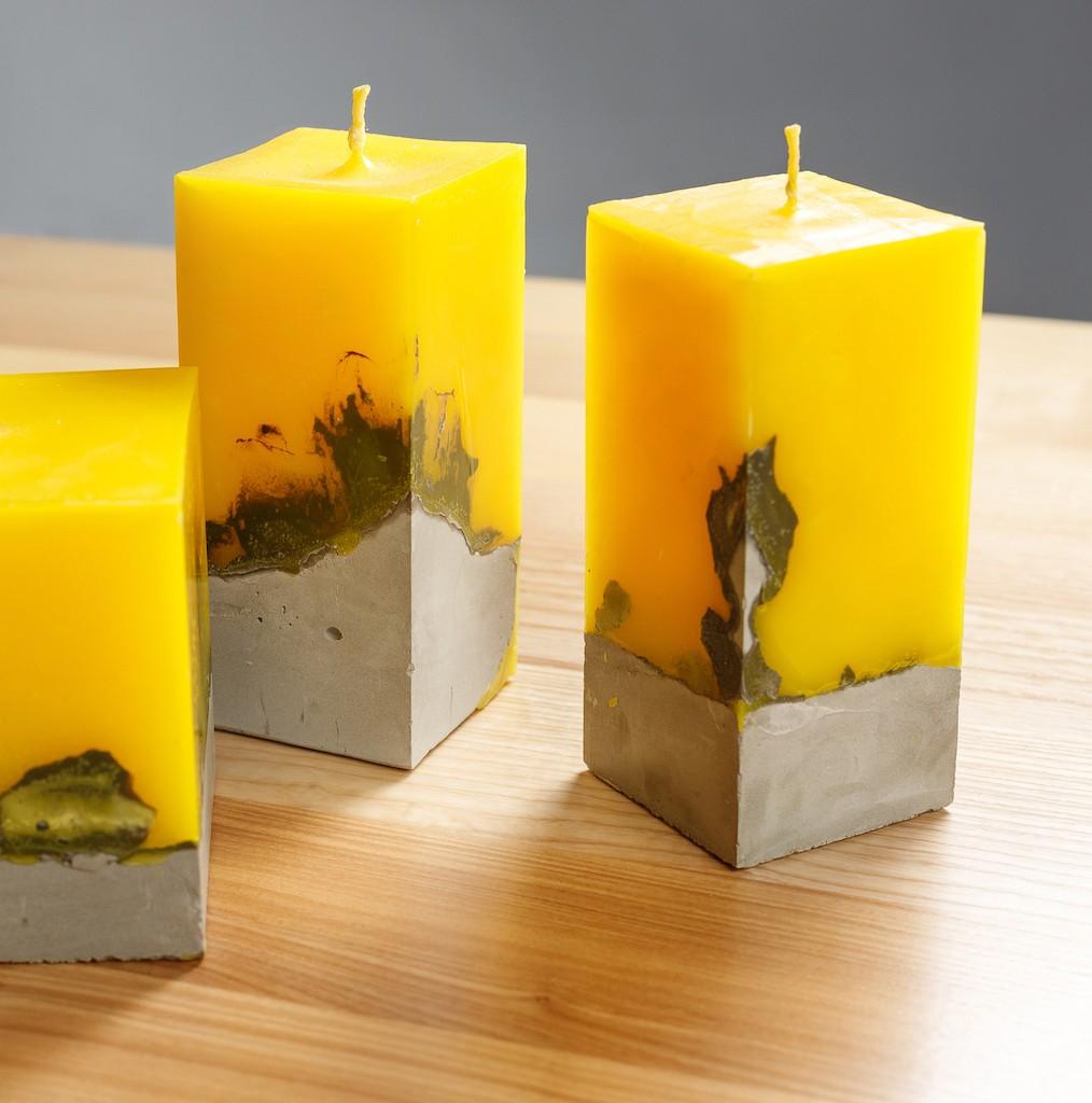 7 007 01 - Свечи лофт с бетонным основанием