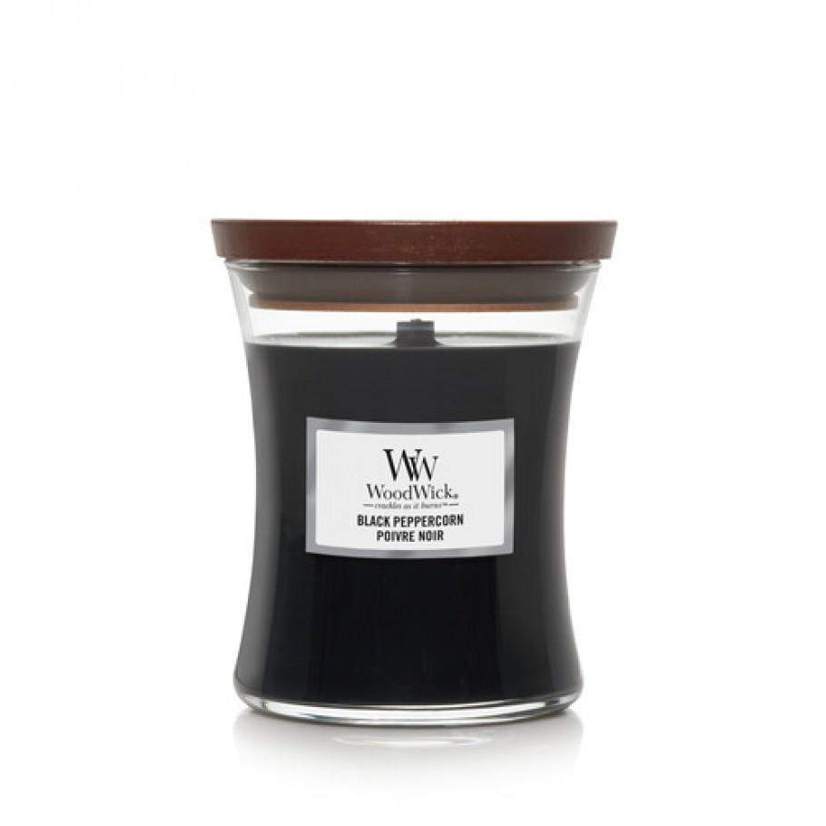 aromaticheskaya svecha black peppercorn1 medium jar woodwick.jpg 910x910 1 - Ароматична свічка Woodwick Mini Sueded Sandalwood 85г