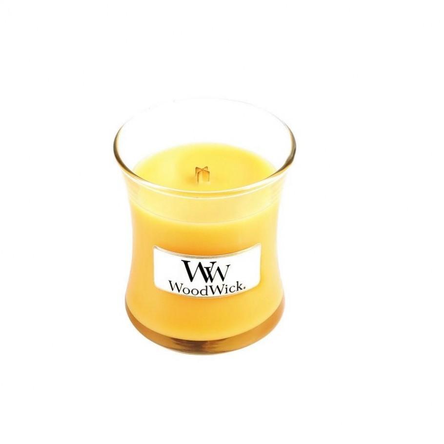 aromaticheskaya svecha seaside mimosa mini jar woodwick 2 910x910 1 - Ароматическая свеча Woodwick Mini Seaside Mimosa 85г