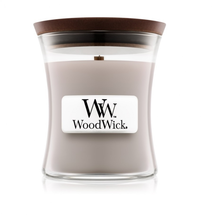 aromaticheskaya svecha wood smoke mini jar woodwick 910x910 1 - Ароматическая свеча Woodwick Medium Evening Onyx 275г