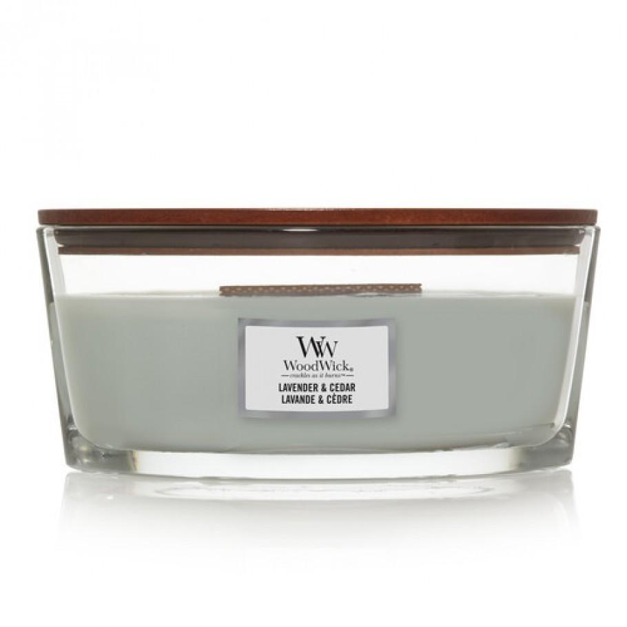 ellipse lavender cedar2 - Ароматична свічка Mini Velvet Tobacco 85 г