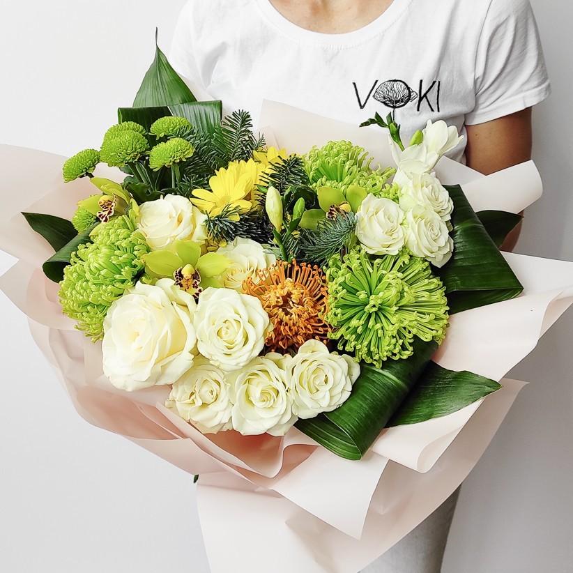 img 20201129 115113 - Букет квітів № 122