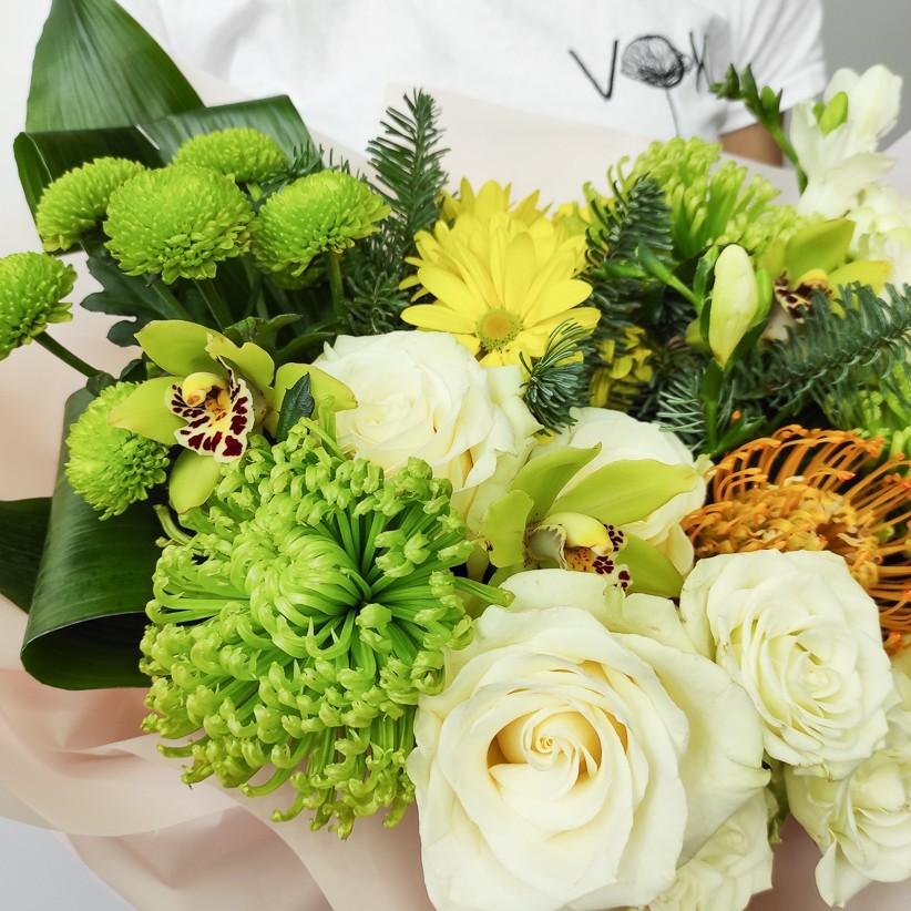 img 20201129 115159 - Букет квітів № 122