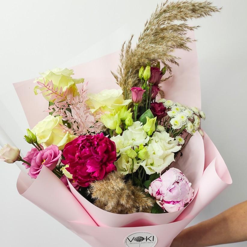 img 20201129 115435 - Букет квітів № 124
