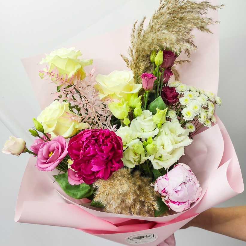 Букет цветов № 124