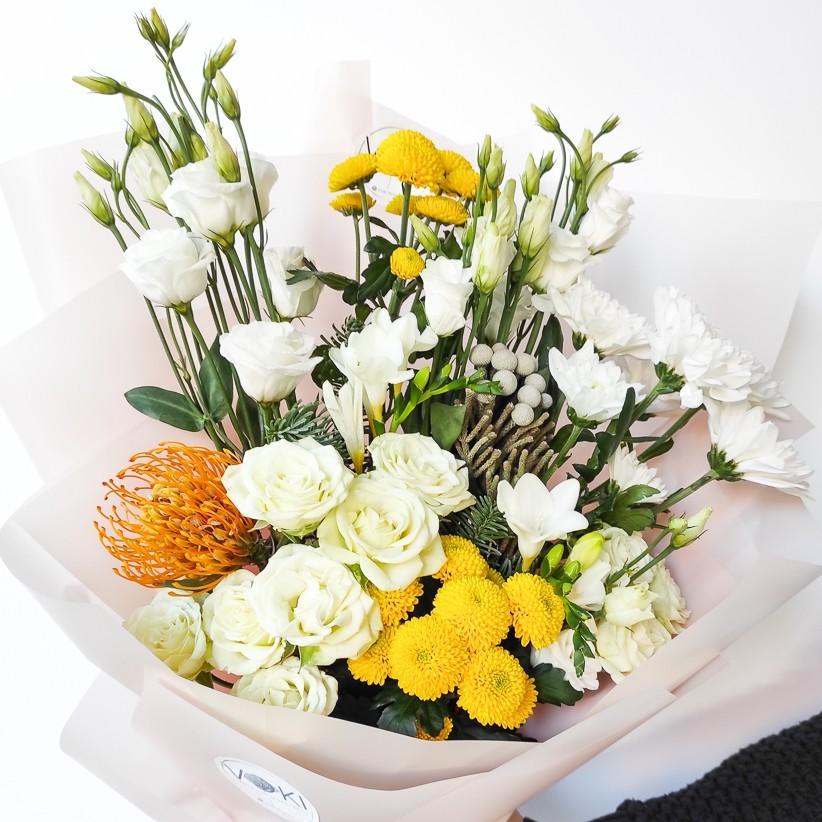 img 20201206 110436 - Букет цветов № 126