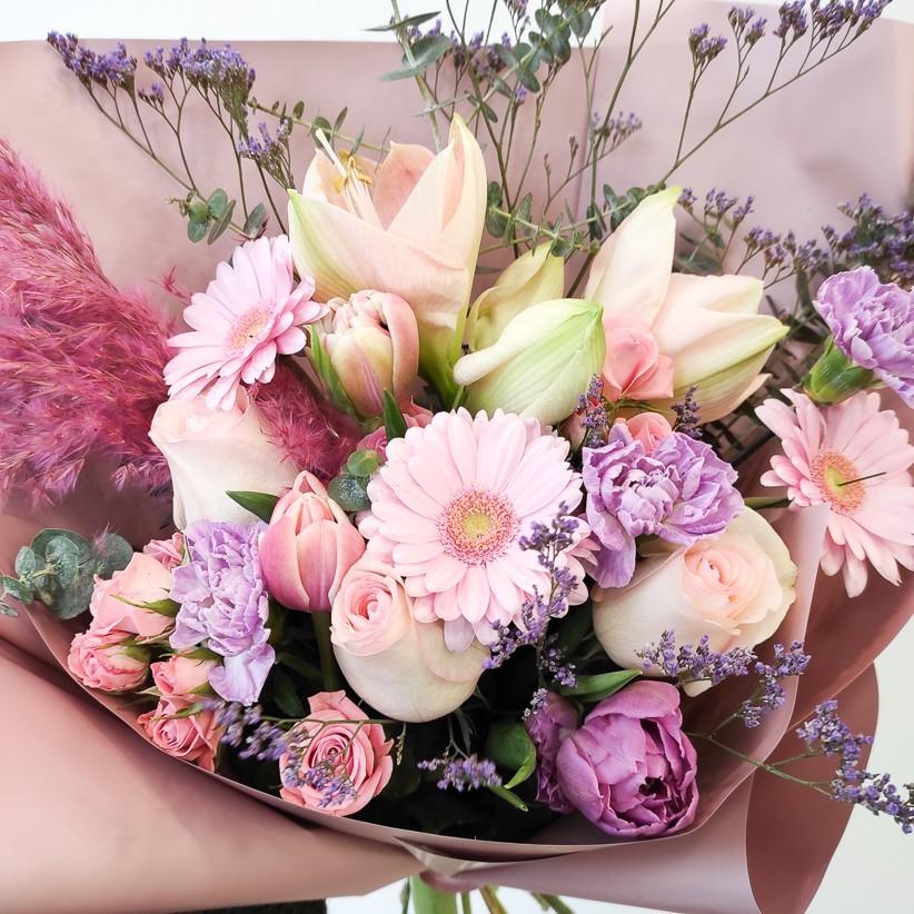 img 20201209 121741 - Букет квітів № 128