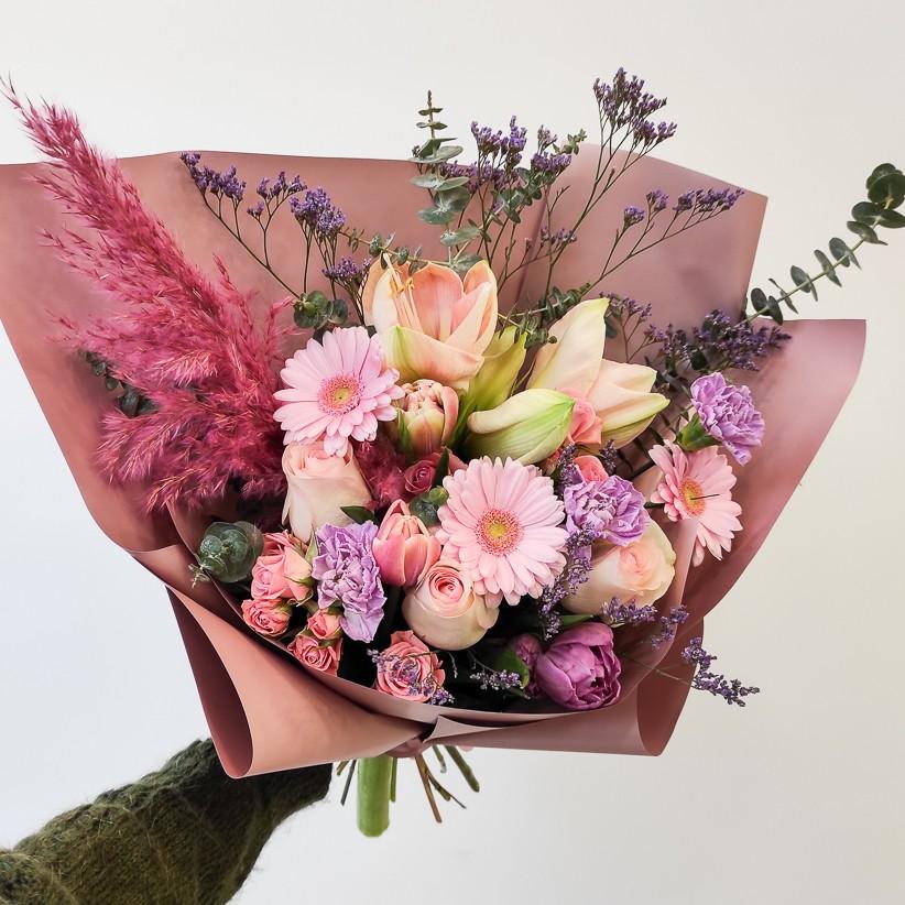 img 20201209 121813 - Букет квітів № 128