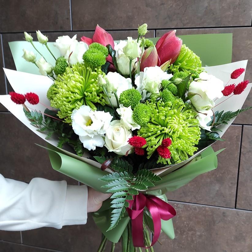img 20201212 121611 2 - Букет квітів № 129