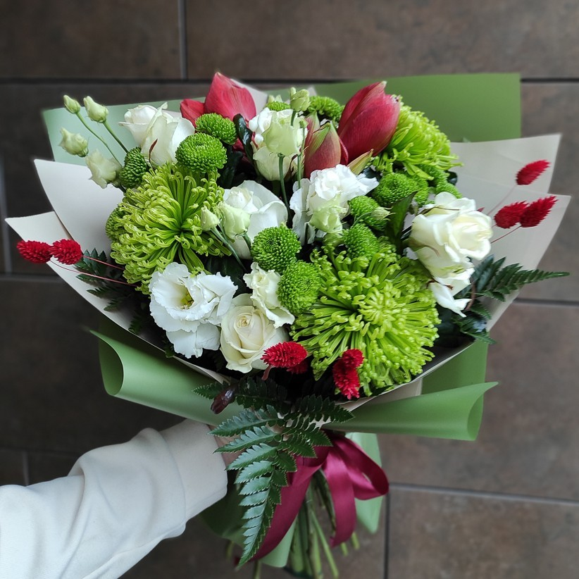 img 20201212 121725 - Букет цветов № 129