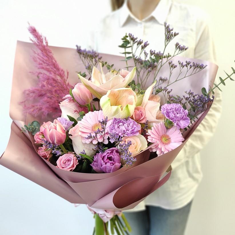 img 20201213 122857 kopija 1 - Букет квітів № 128
