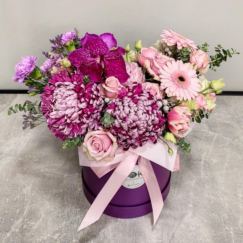 img 20201216 180514 - Композиция цветов в кашпо № 1041