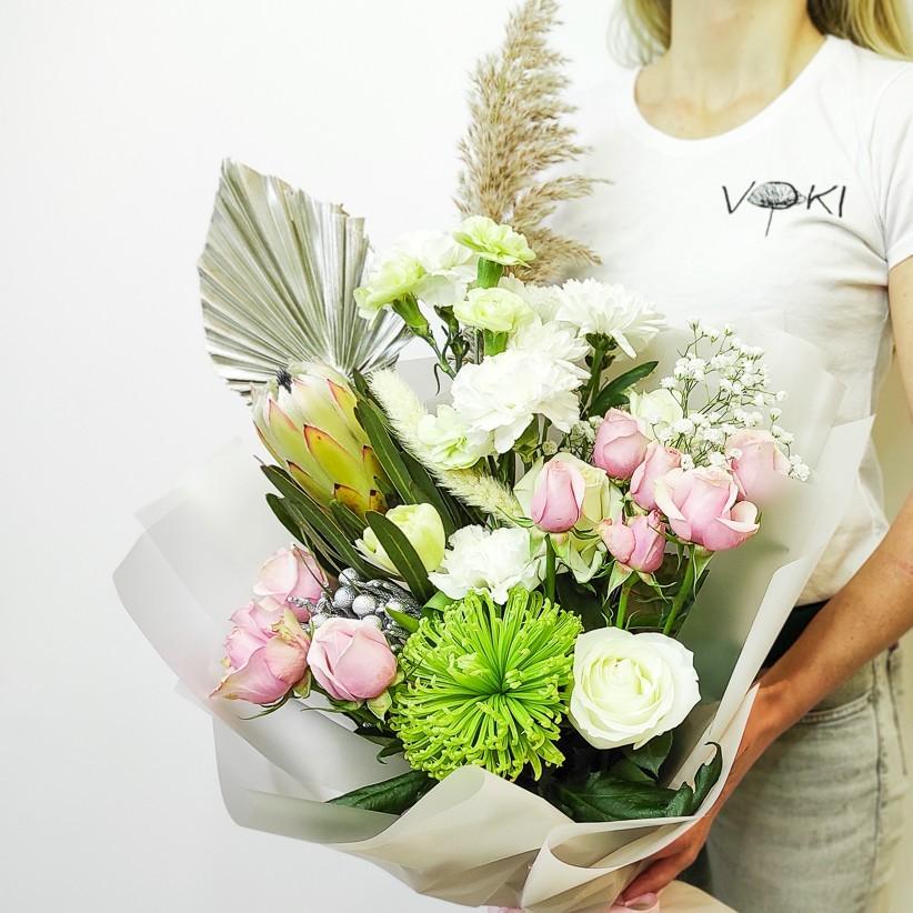img 20201220 110333 - Букет квітів № 130