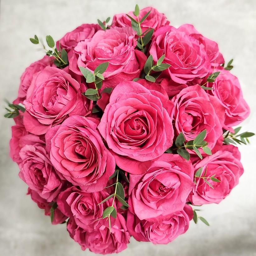 img 20201220 130610 - Композиция цветов в коробке  № 1016