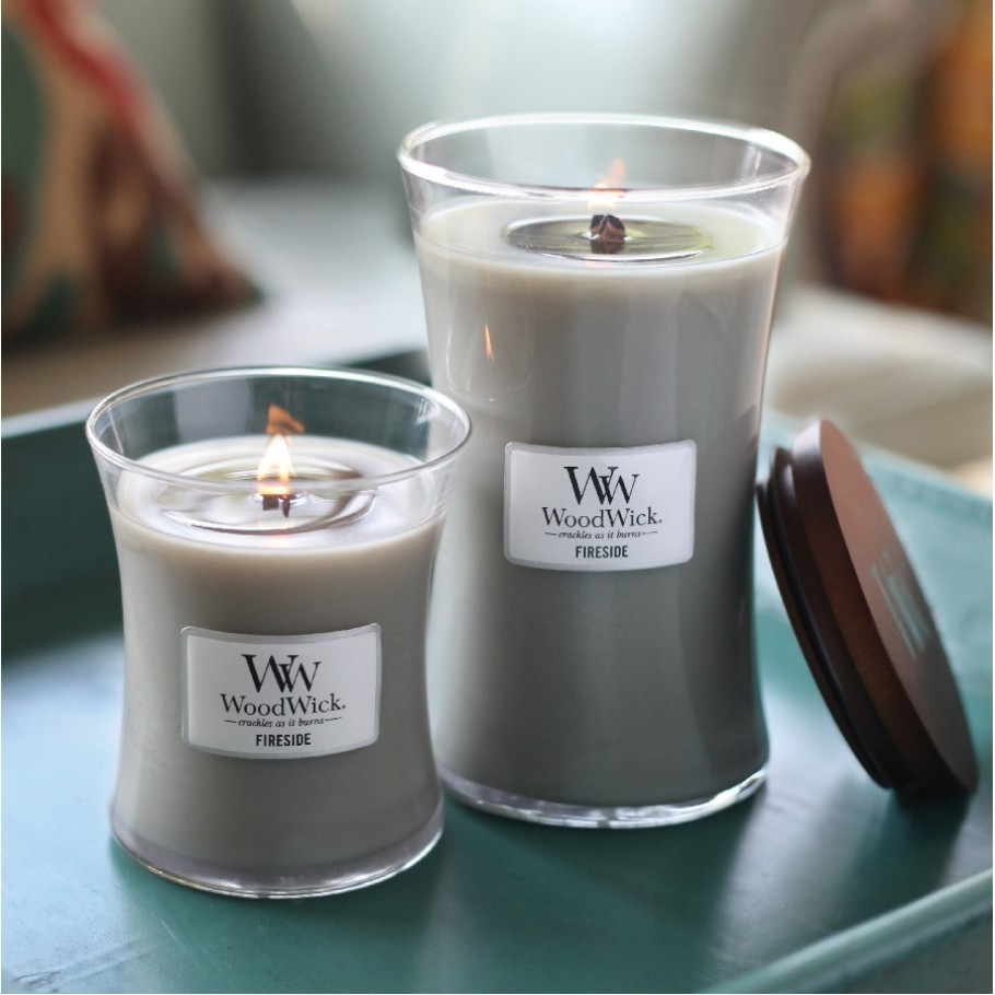 aromaticheskaya svecha fireside large jar woodwick 4 910x910 1 - Ароматическая свеча Woodwick Large Fireside 609 г