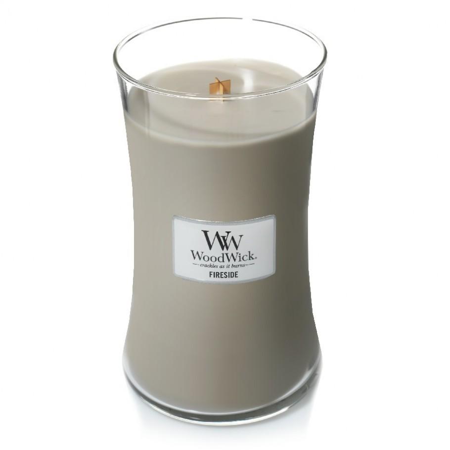 aromaticheskaya svecha fireside large jar woodwick 910x910 1 - Ароматическая свеча Woodwick Large Fireside 609 г