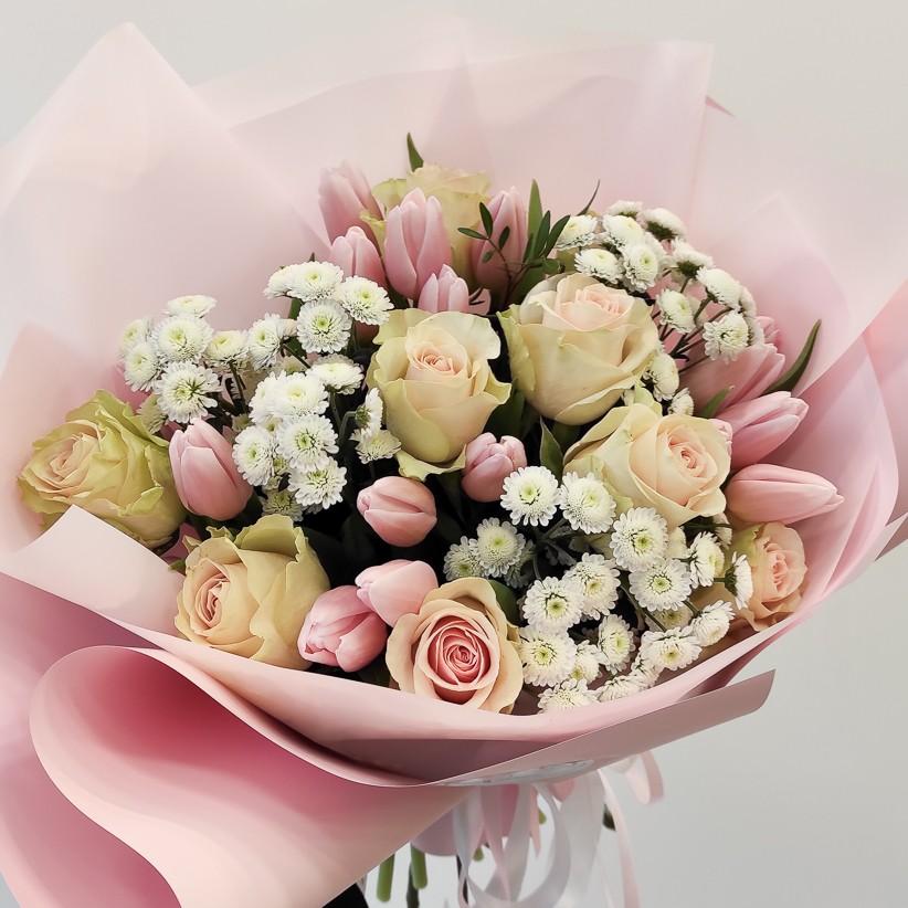 img 20210110 134724 - Букет цветов № 131