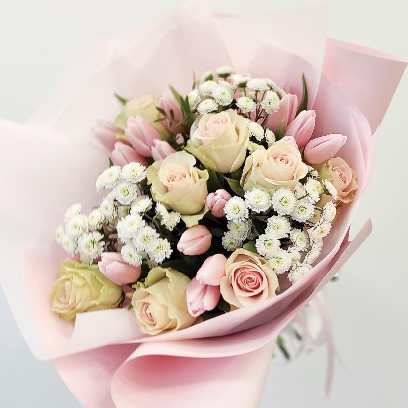 img 20210110 134742 - Букет цветов № 131