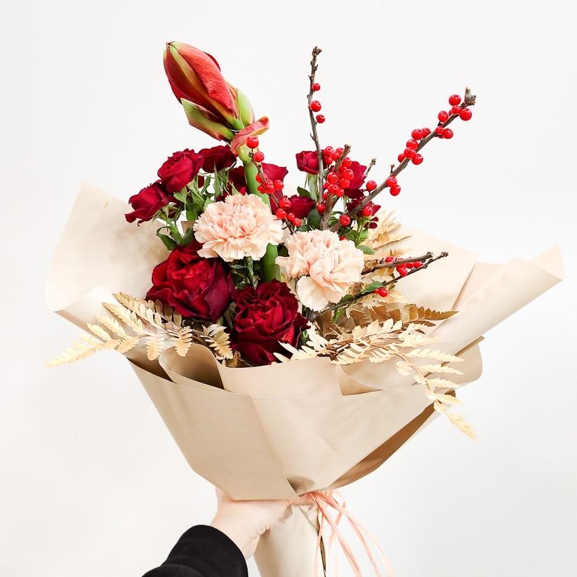 img 20210110 170948 - Букет квітів № 132