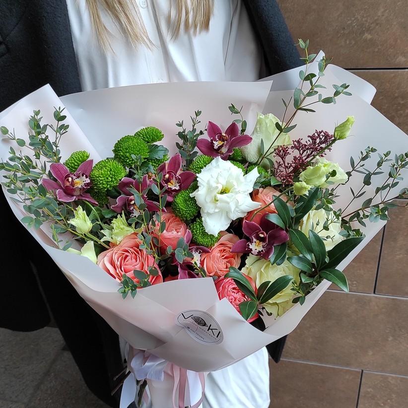 img 20210124 142517 - Букет квітів № 136