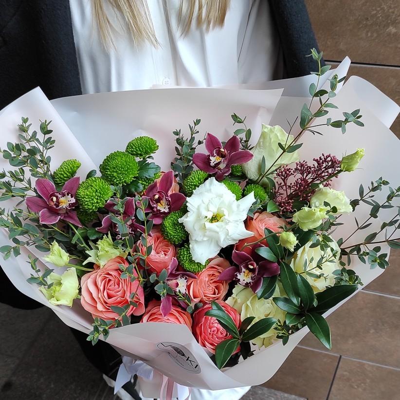 img 20210124 142536 - Букет квітів № 136