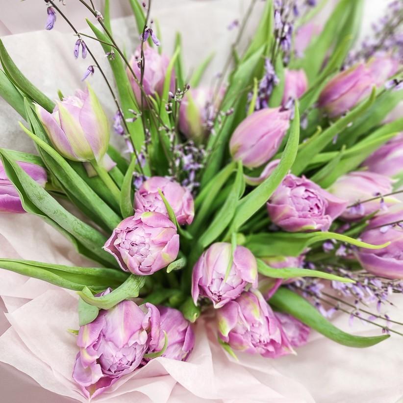 img 20210126 103635 - Букет тюльпанов № 134