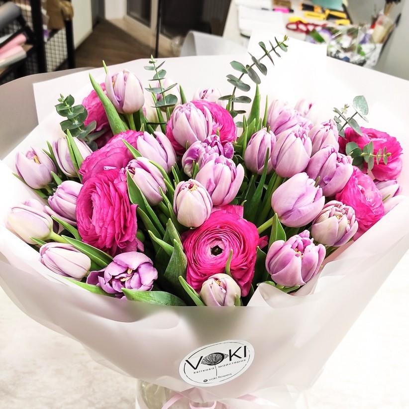img 20210213 182153 - Букет цветов № 140