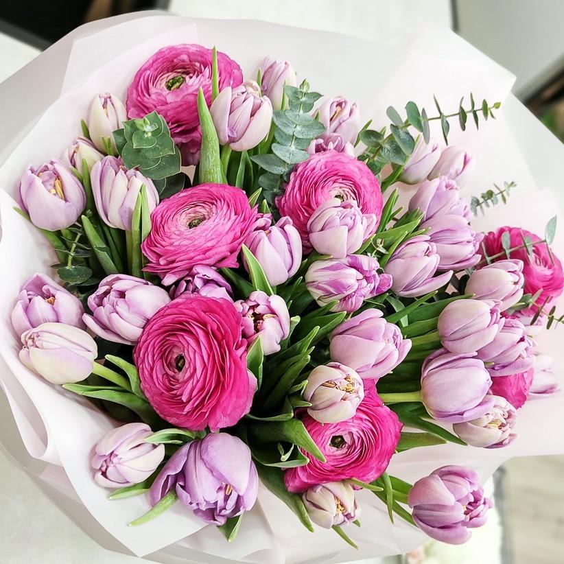 img 20210213 182201 - Букет цветов № 140