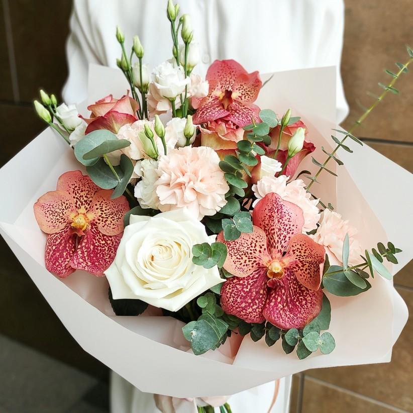 img 20210221 133505 - Букет цветов № 144