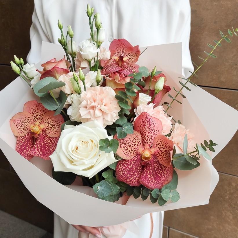 img 20210221 133510 - Букет цветов № 144