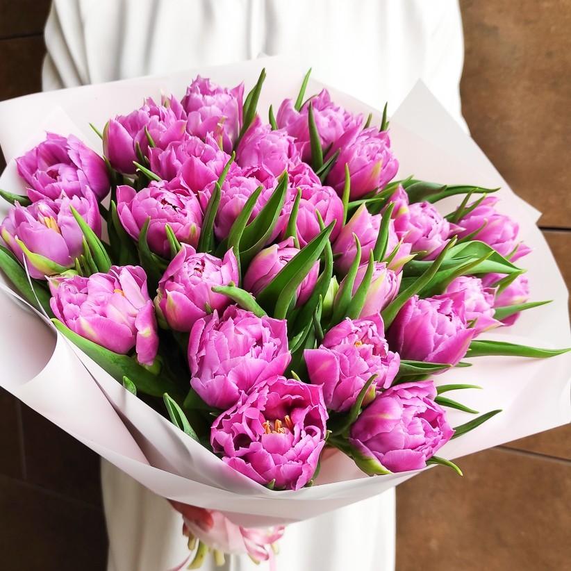 img 20210221 133616 - Букет тюльпанов № 142