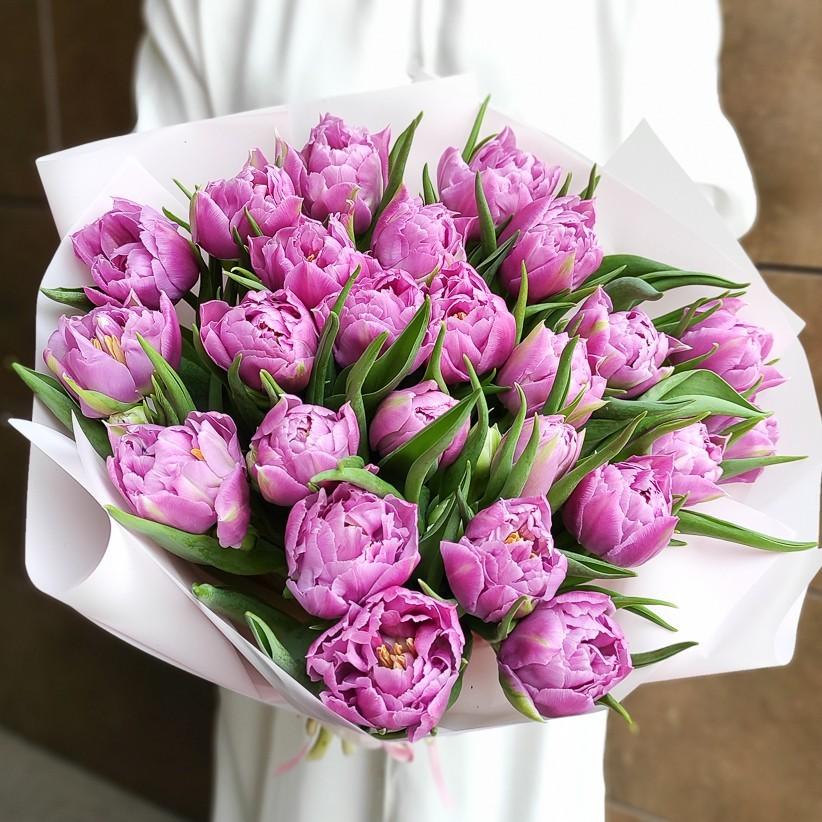 img 20210221 133628 - Букет тюльпанов № 142
