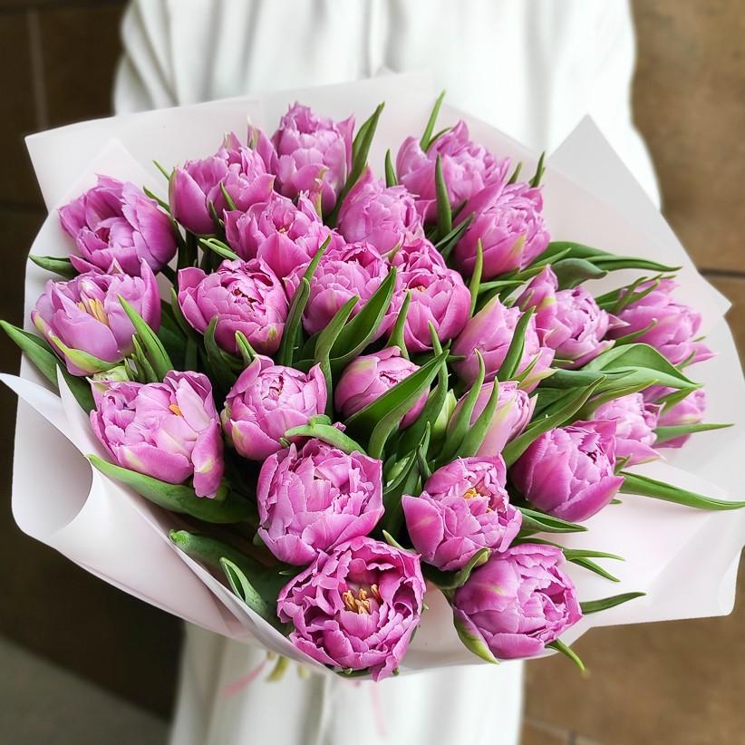 img 20210221 133633 - Букет тюльпанов № 142