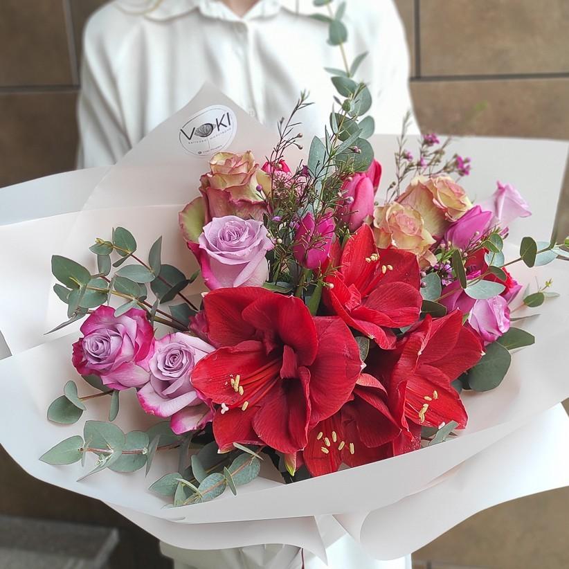 img 20210221 144555 - Букет квітів № 143