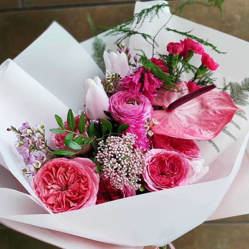 img 20210223 154158 - Букет цветов № 150