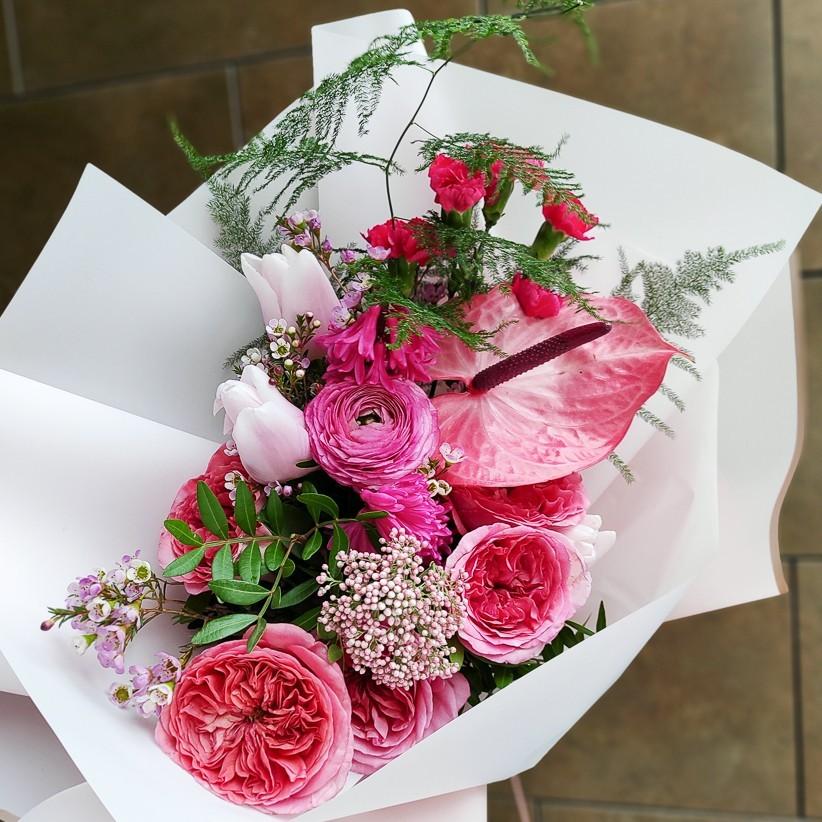 img 20210223 154222 - Букет цветов № 150