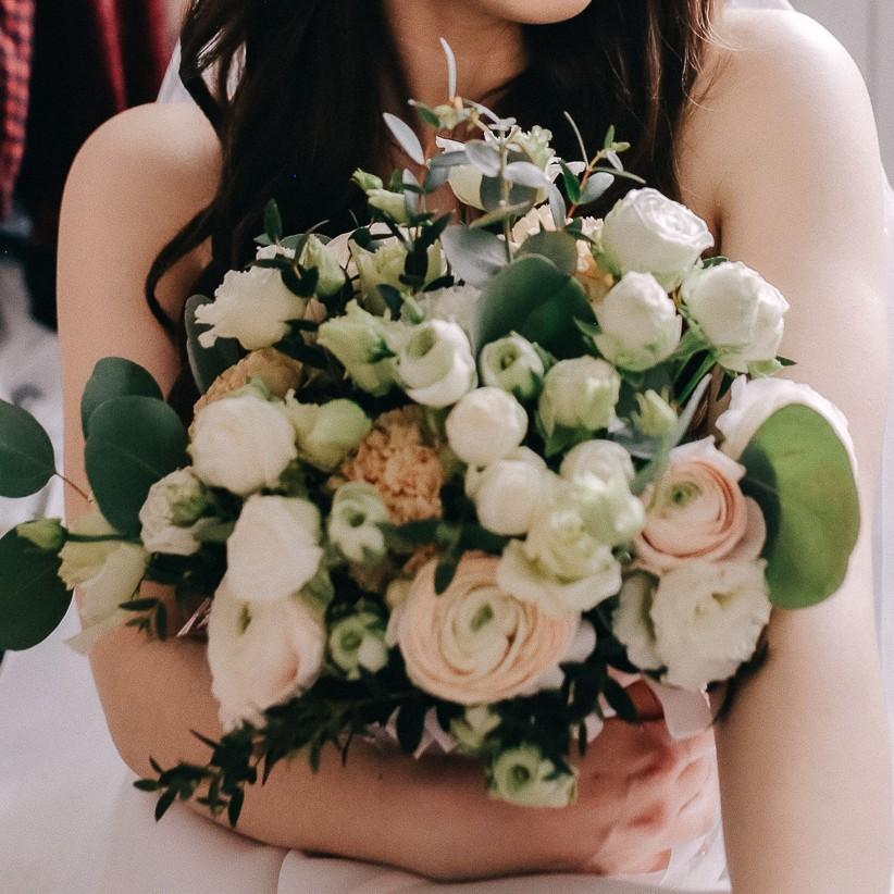 Весільний букет у середземноморському стилі