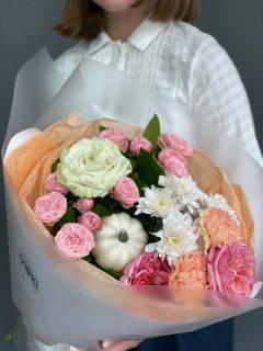 Букет цветов на 1 сентября № 164